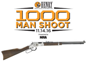 Henry Repeating Arms donates 1,000 Henry rifles in support of the 2nd Amendment, the NRA, youth shooting sports and firearms safety programs.