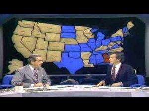 NBC Color Coded Electoral Map