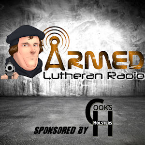 Armed Lutheran Radio Logo