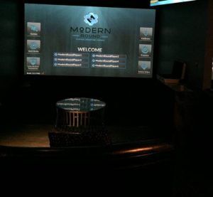 Modern Round Shooting Lounge