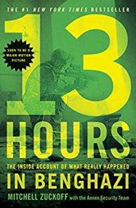 13 Hours: The Inside Account of What Really Happened In Benghazi Book