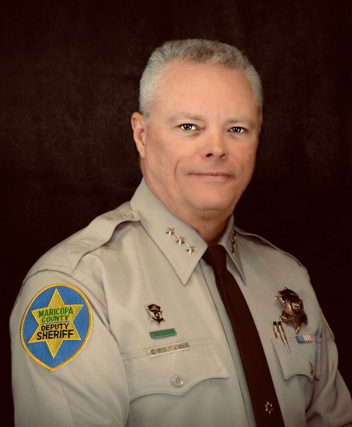 Jerry Sheridan is a 2020 candidate for Maricopa County Sheriff