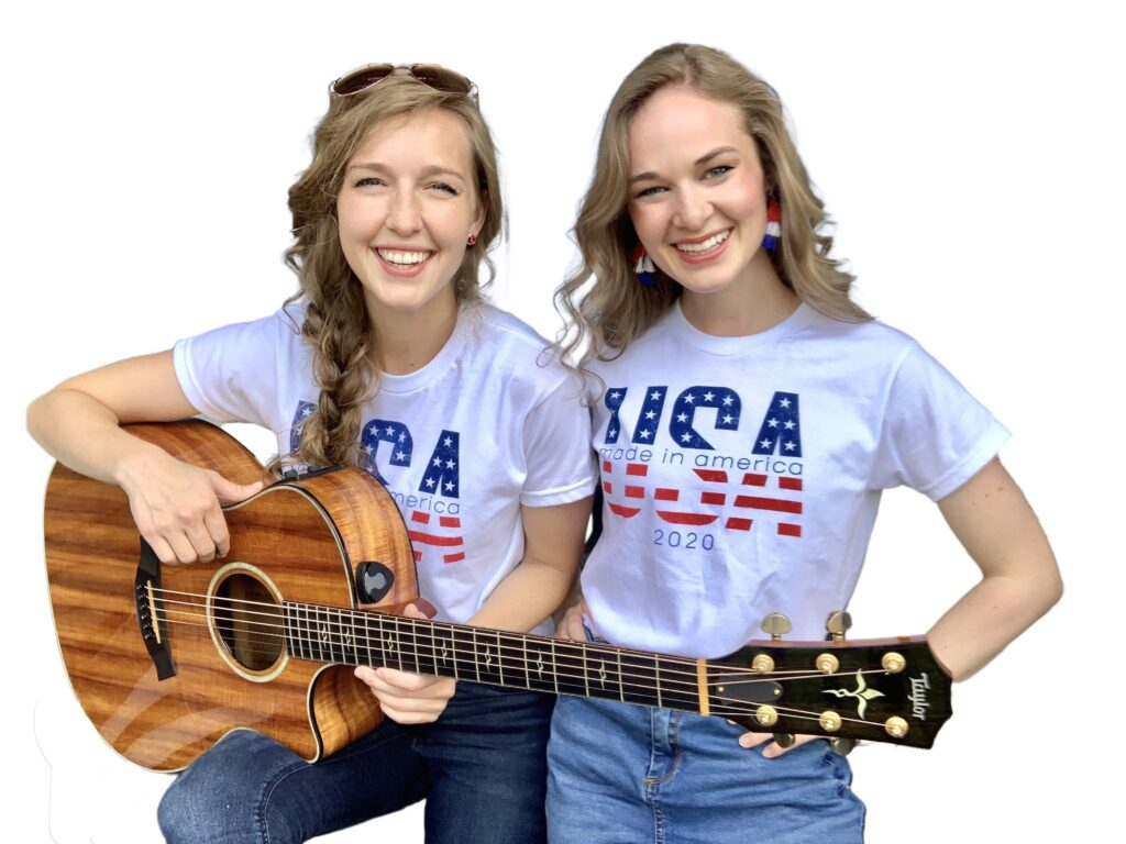 """Camille & Haley, writers of the viraling song """"Keep America Great"""" aka """"Vote Trump 2020"""" are a conservative Christian sister duo from Tulsa, OK."""