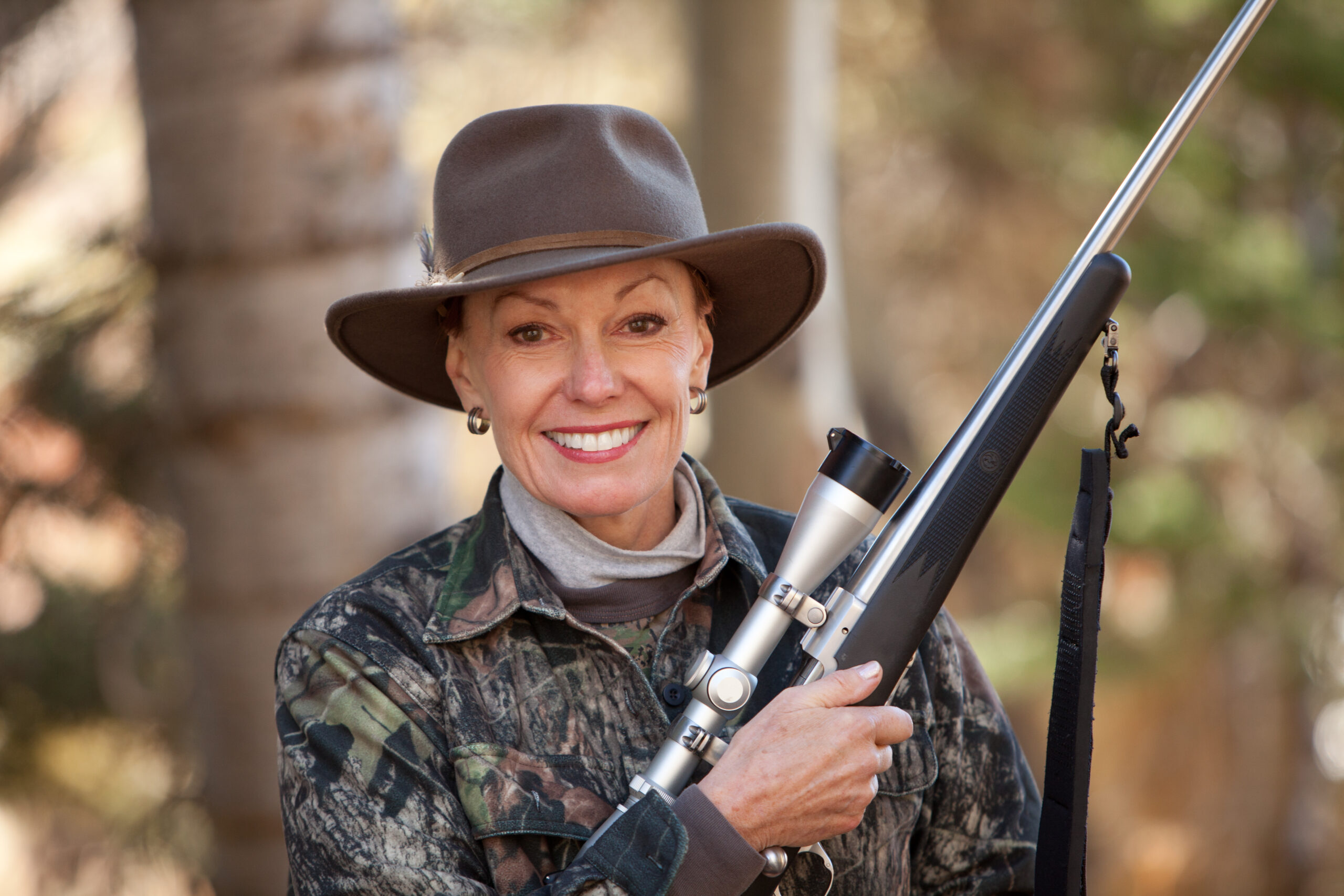 Marsha Petrie Sue is an avid shooter, hunter, and outdoorswoman. She is Chair of the Women's Outdoor Media Association (WOMA)– a 501c3 raising money for Foundation for Women Warriors and other groups.