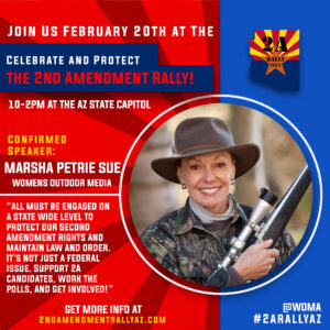 2A Rally 2021 Marsha Petrie Sue