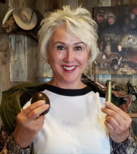 Deb Ferns, author of Babes with Bullets and Founder of the Women's Outdoor Media Association WOMA