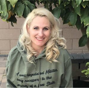 Theresa Catherine. Theresa is a co-founder of Arizona Stands Up!